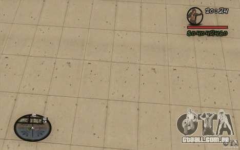 HUD do M0r1s para GTA San Andreas