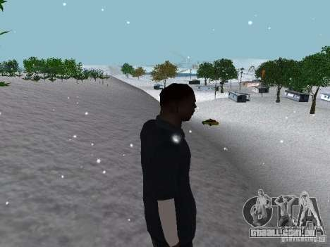 Snow MOD 2012-2013 para GTA San Andreas décimo tela