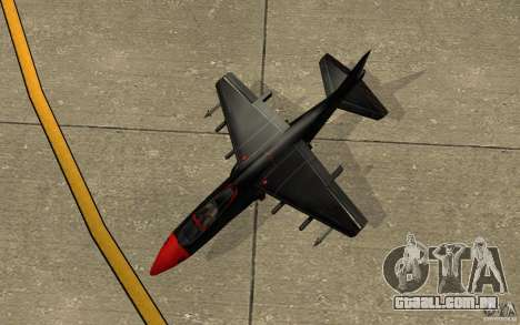 Black Hydra v2.0 para GTA San Andreas vista traseira