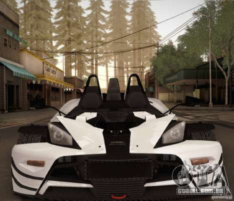 KTM-X-Bow para vista lateral GTA San Andreas