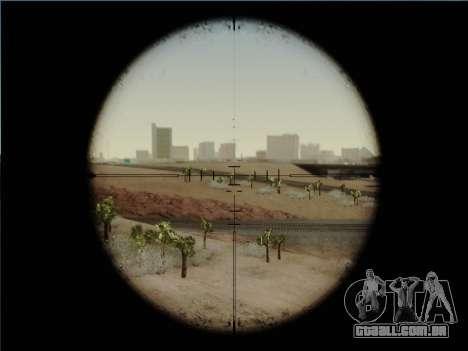 HK PSG 1 para GTA San Andreas quinto tela