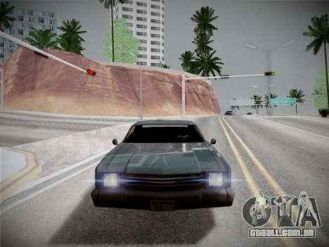 ENBSeries by Treavor V2 White edition para GTA San Andreas segunda tela
