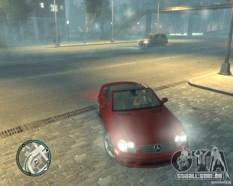 Mercedes Benz SL65 AMG para GTA 4 vista de volta