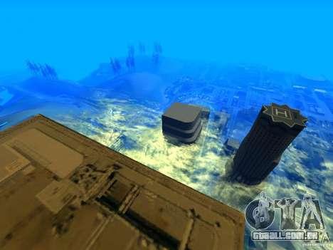 Ângulo da câmera melhorada V2 para GTA San Andreas terceira tela