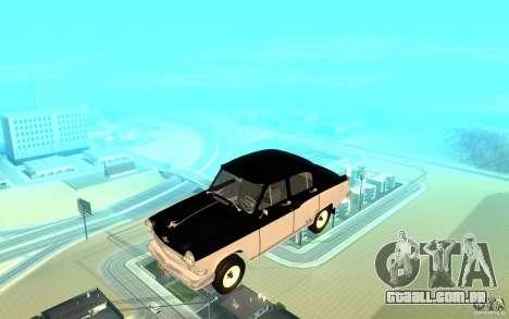 Black Lightning para GTA San Andreas oitavo tela
