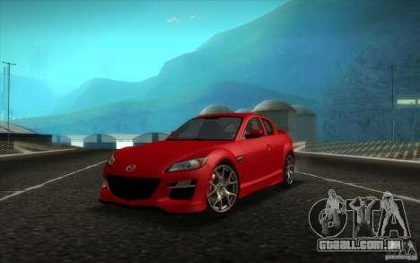 Mazda RX-8 R3 2011 para GTA San Andreas