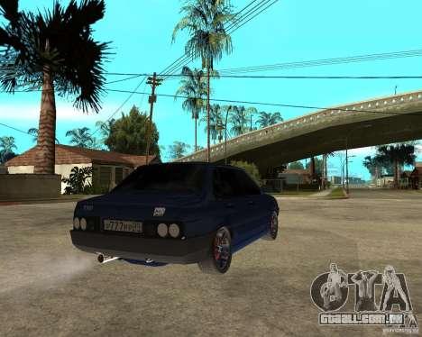 Vaz 21099 Tuning por Danil para GTA San Andreas traseira esquerda vista
