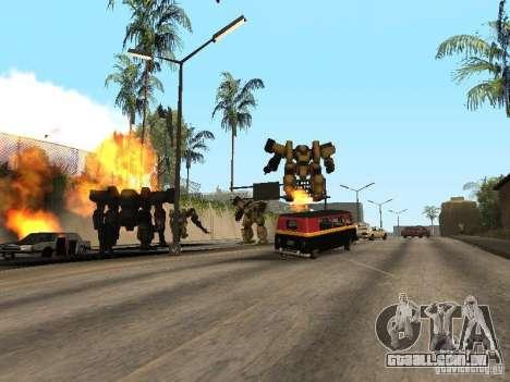 Transformadores para GTA San Andreas