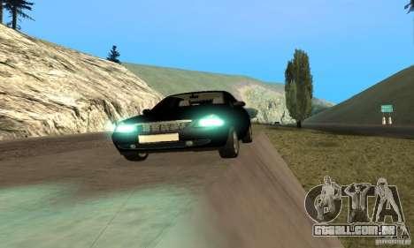 Van LADA priora para GTA San Andreas vista traseira