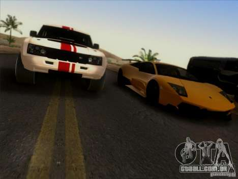 Bowler EXR S 2012 para GTA San Andreas vista interior
