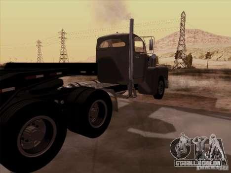 Mack B 61 para GTA San Andreas traseira esquerda vista