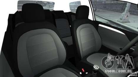 Fiat Punto Evo Sport 2012 v1.0 [RIV] para GTA 4 vista interior