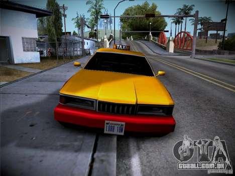 Sentinel Taxi para GTA San Andreas esquerda vista