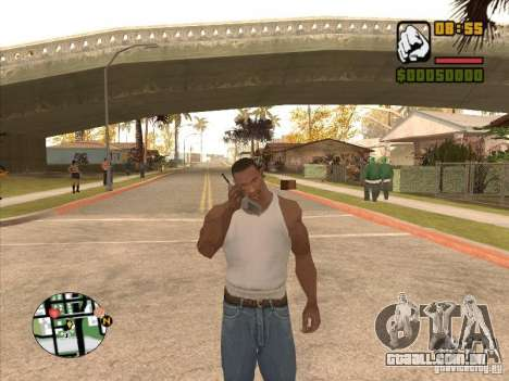 Call the Police para GTA San Andreas segunda tela