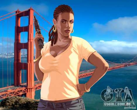 Tela de boot em San Francisco para GTA 4 sétima tela