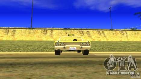 Crazy Taxi - B.D.Joe para GTA San Andreas vista direita
