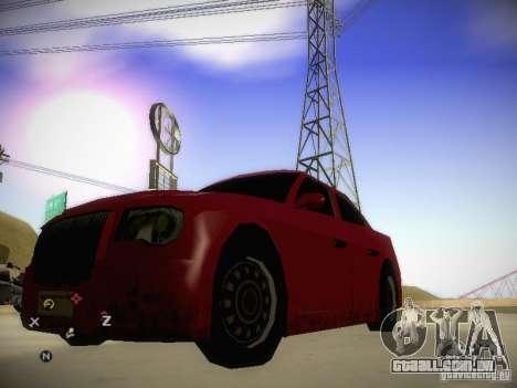 Chrysler 300C para GTA San Andreas esquerda vista