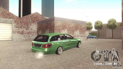 Mercedes-Benz E-Class Estate S212 para GTA San Andreas vista interior