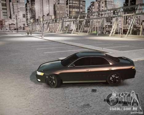 Toyota Mark II Tourer V para GTA 4 traseira esquerda vista