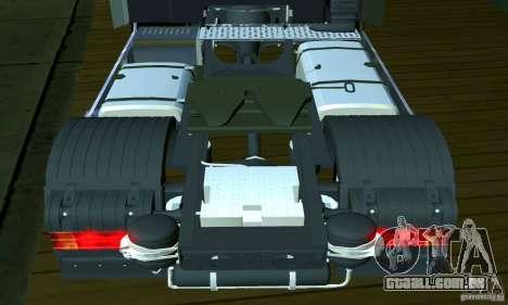 Mercedes-Benz Actros 2012 para GTA San Andreas vista interior