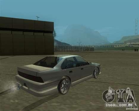Nissan Cefiro A31 (D1GP) para GTA San Andreas esquerda vista