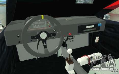 Forsage para GTA San Andreas vista interior