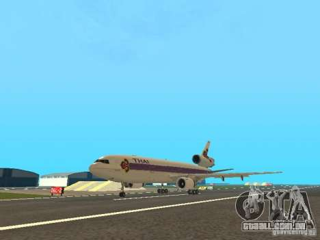 McDonell Douglas  DC 10 Thai Airways para GTA San Andreas