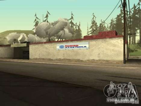 A aldeia de Ivanovka para GTA San Andreas terceira tela