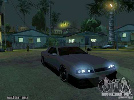 ELEGY BY CREDDY para GTA San Andreas