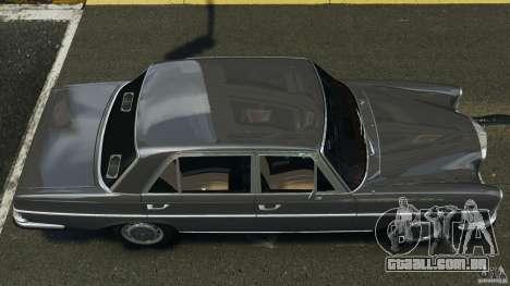 Mercedes-Benz 300Sel 1971 v1.0 para GTA 4 vista direita