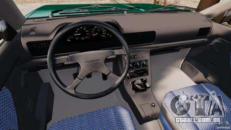 Daewoo-FSO Polonez Caro Plus 1.6 GSI 1998 Final para GTA 4 traseira esquerda vista