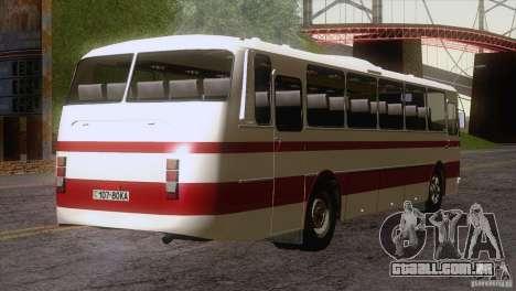 Pele LAZ 699R 93-98 1 para GTA San Andreas vista traseira