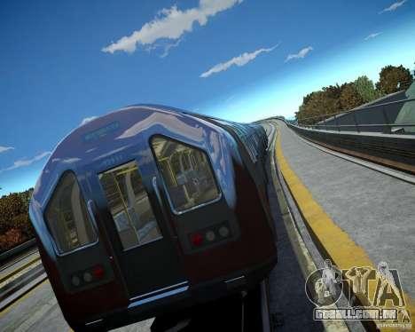 Trem de Londres para GTA 4 terceira tela