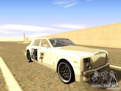 Rolls-Royce Phantom V16 para o motor de GTA San Andreas