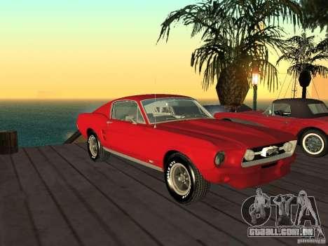 Ford Mustang 67 Custom para GTA San Andreas