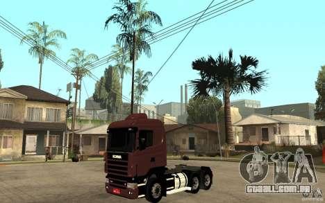 Scania 124 R480 6x4 Truck 1 para GTA San Andreas