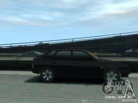 VAZ 21093i o tuning completo para GTA 4 esquerda vista