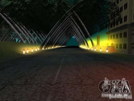 Nova cidade v1 para GTA San Andreas