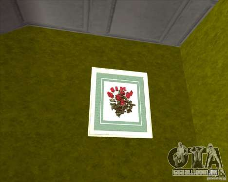 New Interior of CJs House para GTA San Andreas quinto tela