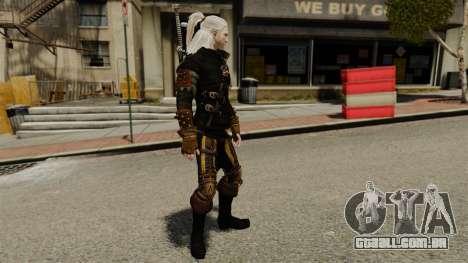Geralt de Rivia v3 para GTA 4 segundo screenshot