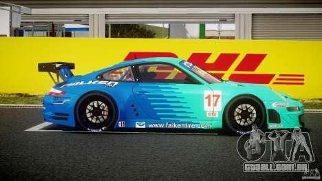 Porsche GT3 RSR 2008 para GTA 4 vista interior