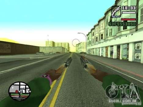 Primeira pessoa (primeira pessoa mod) para GTA San Andreas décima primeira imagem de tela