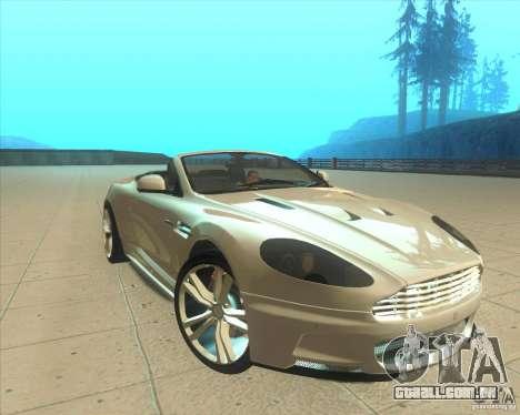 Aston Martin DBS Volante 2009 para GTA San Andreas vista direita