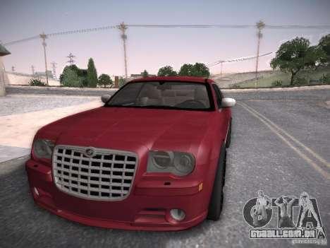 Chrysler 300C SRT8 para GTA San Andreas traseira esquerda vista