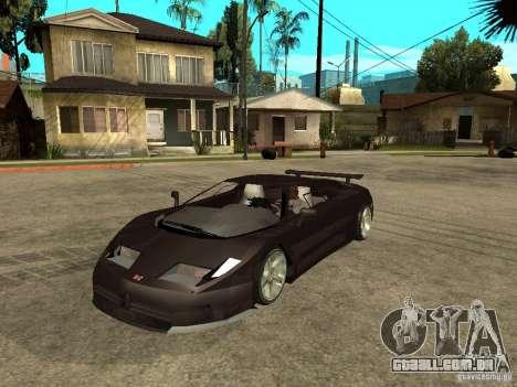 Buggati EB110 para GTA San Andreas