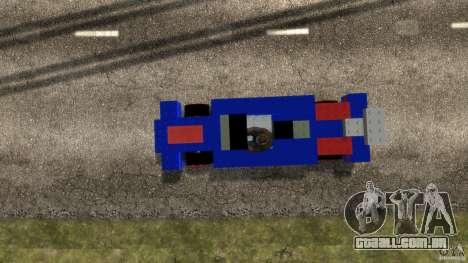 LEGOCAR para GTA 4 vista direita