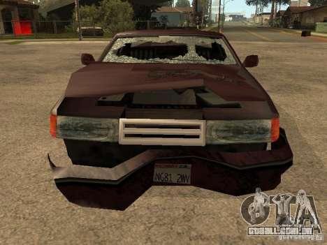 Danos realistas para GTA San Andreas oitavo tela