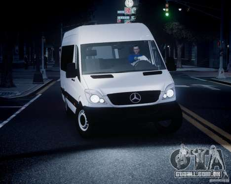 Mercedes-Benz Sprinter Long para GTA 4 vista superior