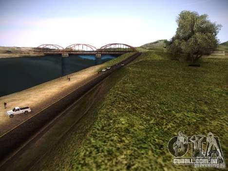 Aumento de desenho de máquinas e pedov para GTA San Andreas