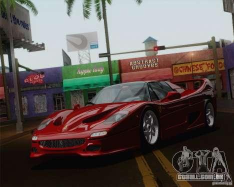 Optix ENBSeries para PC poderoso para GTA San Andreas terceira tela